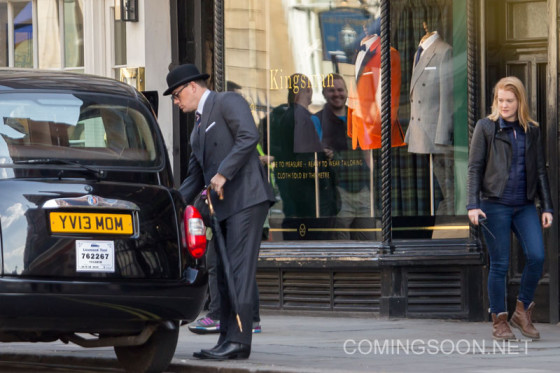 Channing Tatum films scenes for 'Kingsman: The Golden Circle'
