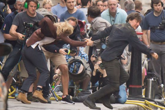 Tom Cruise and Annabelle Wallis are spotted filming dramitic scenes for The Mummy  Both can be seen dancing in celebration of the last day of filming. Featuring: Annabelle Wallis, Tom Cruise Where: London, United Kingdom When: 17 Jul 2016 Credit: WENN.com