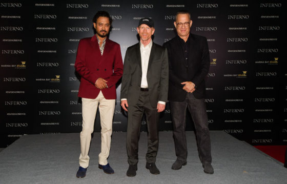 """Inferno"" Red Carpet And Photo Call, Marina Bay Sands, Singapore"