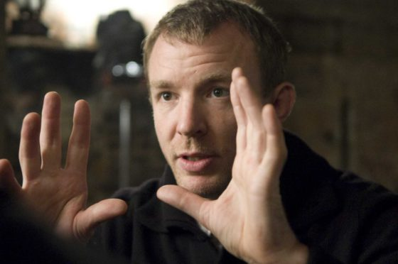 SHH-14382 Director GUY RITCHIE on the set of Warner Bros. PicturesÕ and Village Roadshow PicturesÕ action-adventure mystery ÒSherlock Holmes,Ó distributed by Warner Bros. Pictures.