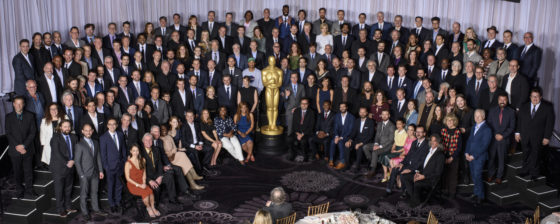 89th Oscars®, Nominees Luncheon, Class Photo